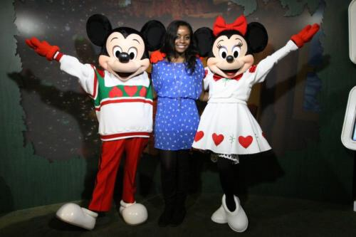 Me with Mickey and Minnie Mouse