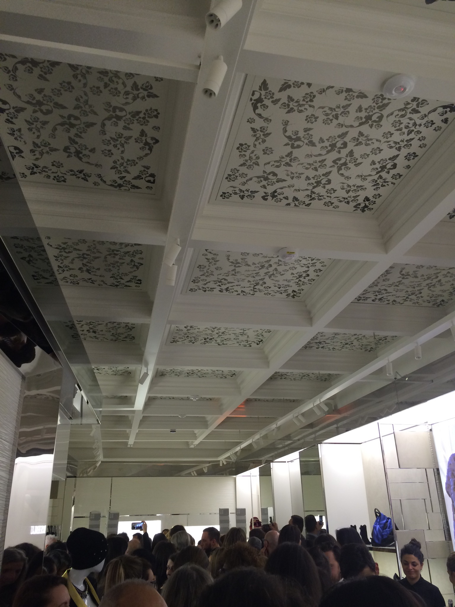 Even the ceilings had a cool design