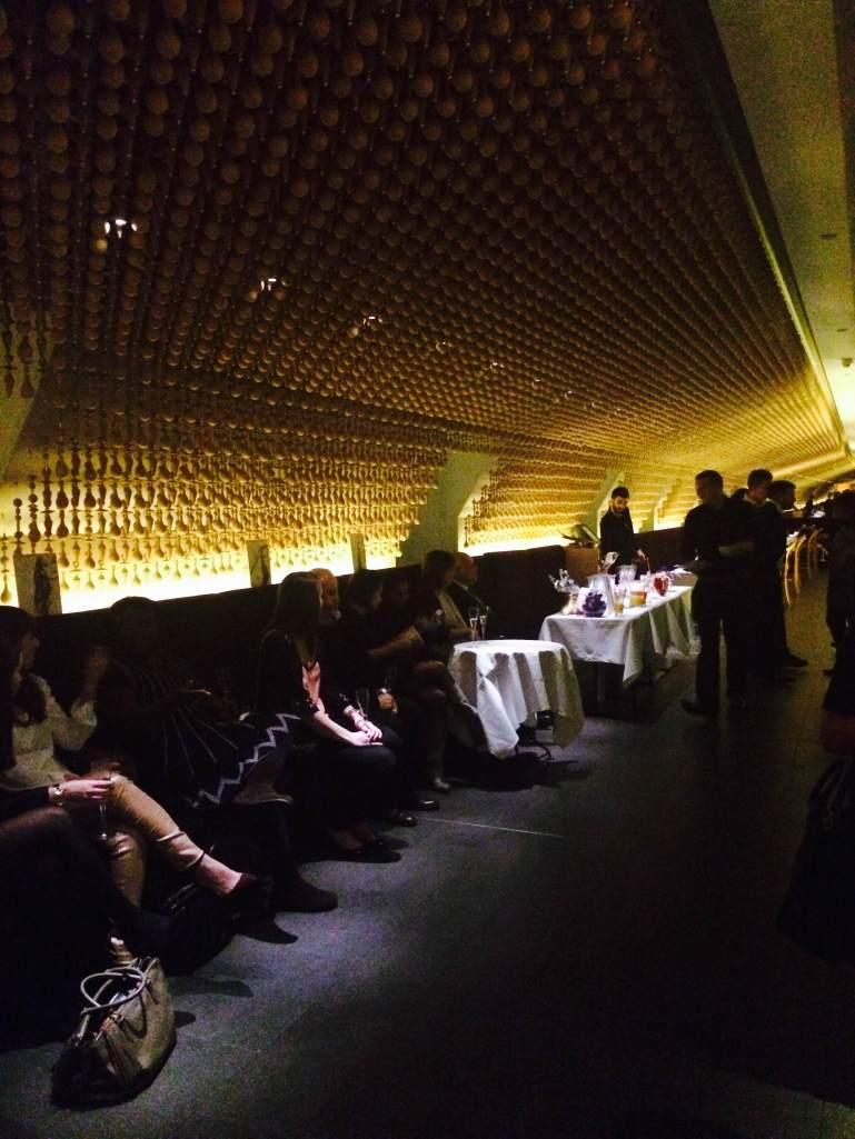 Guests inside Aqua Nueva