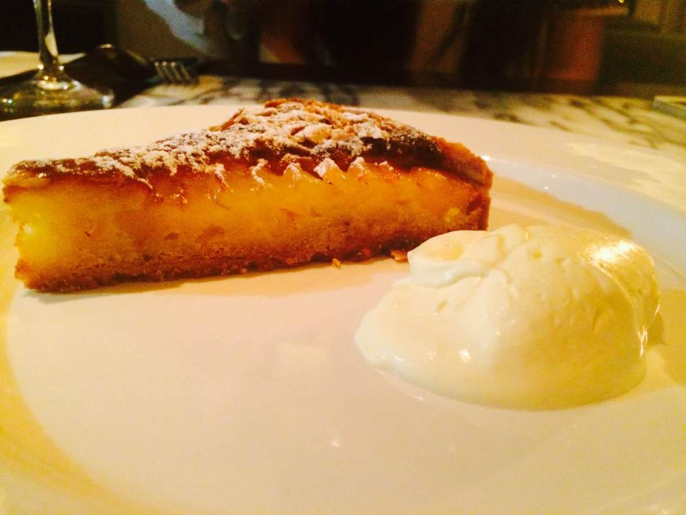 My tart for desert